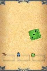 Fighting Fantasy: Deathtrap Dungeon iPhone The die, it rolls.