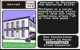 Where in the U.S.A. is Carmen Sandiego? Commodore 64 Detroit