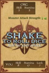 Fighting Fantasy: Deathtrap Dungeon iPhone Let's face off!