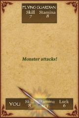 Fighting Fantasy: Deathtrap Dungeon iPhone OK, this one is tougher