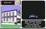 Where in the U.S.A. is Carmen Sandiego? Commodore 64 Police car cruising by