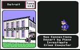 Where in the U.S.A. is Carmen Sandiego? Commodore 64 A policeman walks by, disappointed that you have failed to catch the right suspect