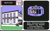 Where in the U.S.A. is Carmen Sandiego? Commodore 64 A policevan with the suspect inside