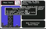 Where in the U.S.A. Is Carmen Sandiego? Commodore 64 Prompt: Really save case?