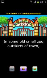 Zoo Keeper Android Story introduction