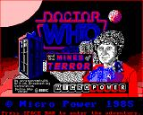 Doctor Who and the Mines of Terror BBC Micro Title Screen