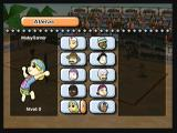 Boomerang Sports Vôlei Zeebo Selecting the characters in your double. As you play matches with each of them, their levels increase and it affects the difficulty level of the opponents.