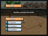 Boomerang Sports Vôlei Zeebo Selecting the length of match. You can choose 3, 7, 15 or 21 points.