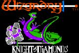 Wizardry: Knight of Diamonds - The Second Scenario Apple II Title screen