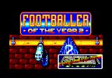 Footballer of the Year 2 Amstrad CPC Loading screen.