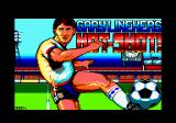 Gary Lineker's Hot-Shot! Amstrad CPC Loading screen.