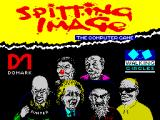 Spitting Image: The Computer Game ZX Spectrum Loading screen.