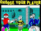 Viz: The Game ZX Spectrum Choose your character.