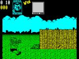 Viz: The Game ZX Spectrum Avoid the bricks.