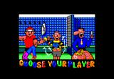 Viz: The Game Amstrad CPC Choose your character.