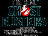 The Real Ghostbusters ZX Spectrum Loading screen.