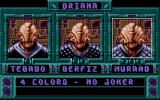 Guardians DOS Game Select Screen (VGA)