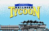 Sid Meier's Railroad Tycoon Atari ST Loading screen.