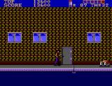 E-SWAT: Cyber Police SEGA Master System The first boss is dead