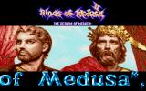 The Return of Medusa DOS Main Screen