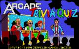 Arcade Trivia Quiz Atari ST Loading screen.