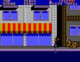 E-SWAT: Cyber Police SEGA Master System The second boss is dead