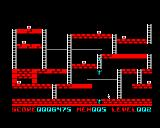 Lode Runner BBC Micro Waiting for falling foes