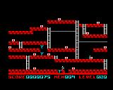 Lode Runner BBC Micro Another foe in the hole