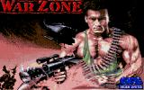 War Zone Atari ST Loading screen.