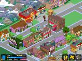 The Simpsons: Tapped Out iPad A crowded Springfield