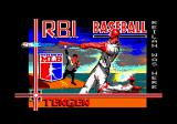 R.B.I. Baseball 2 Amstrad CPC Loading screen.