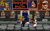 Spitting Image: The Computer Game Atari ST Thatcher vs The Pope.