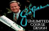 Jack Nicklaus' Unlimited Golf & Course Design DOS Course design title screen  (MCGA/VGA)