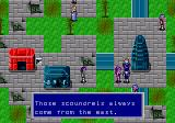 Phantasy Star II Genesis Devastated town
