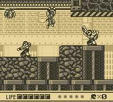 Ninja Gaiden Shadow Game Boy Over enemy...
