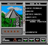 Where in Time is Carmen Sandiego? NES Gather information on whom you're chasing...