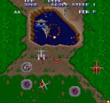 Ajax Sharp X68000 As I totally would expect after that intro, I find myself flying through the first level with...the helicopter