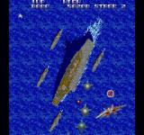 Ajax Sharp X68000 At the end of the stage - a large ship awaits