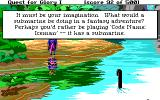 Hero's Quest: So You Want To Be A Hero DOS One of the game's Easter eggs