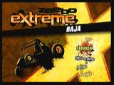 Zeebo Extreme Baja Zeebo Title screen and main menu.