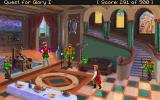 Quest for Glory I: So You Want To Be A Hero DOS At the Baron's castle