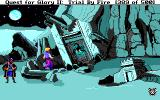 Quest for Glory II: Trial by Fire DOS At the ancient temple