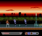 Cross Wiber: Cyber-Combat-Police TurboGrafx-16 Being attacked.