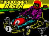 Turbo Kart Racer ZX Spectrum Loading screen.