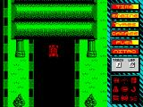 Turbo Kart Racer ZX Spectrum Out of a tunnel.