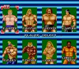 Champion Wrestler TurboGrafx-16 Choose your fighter.
