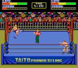 Champion Wrestler TurboGrafx-16 Let's fight.