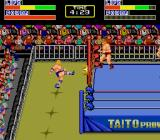 Champion Wrestler TurboGrafx-16 Out of the ring.