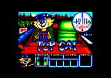 Top Cat in Beverly Hills Cats Amstrad CPC Loading screen.