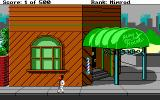 Leisure Suit Larry Goes Looking for Love (In Several Wrong Places) DOS Outside the local Barbershop